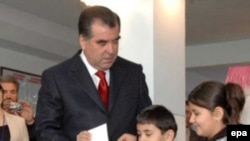 The last vote, when President Emomali Rakhmon was reelected in 2006, was panned by Western observers.
