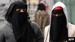 Мусульманки в Лондоне.