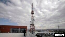 Антенна мобильной связи в Косово
