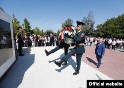 Răscăieți, raionul Ștefan Vodă, ceremonie marcând 75 de la eliberarea de fascism, organizată sub egida președinției