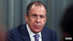 Сергей Лавров, министр иностранных дел России.