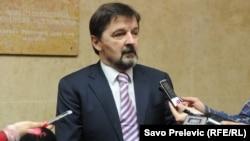 Черногорский депутат Милодраг Вукович.