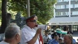 Запорізькі мітинги проти свавілля і на підтримку міліції