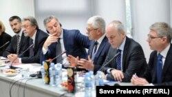 Dirk Lange sa crnogorskim zvaničnicima