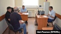 Представители потерпевшей стороны на приёме у министра МВД Чувашии