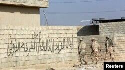 Иракские военные в населенном пункте Шахрезад. Иллюстративное фото.