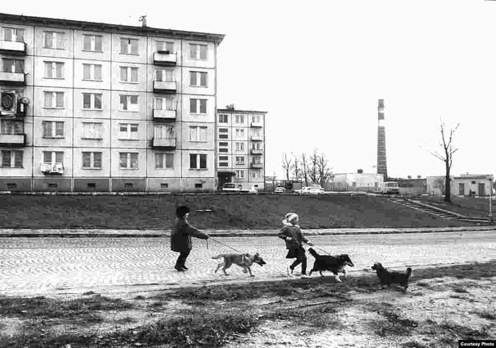 Закрытая советская военная зона, дома военнослужащих