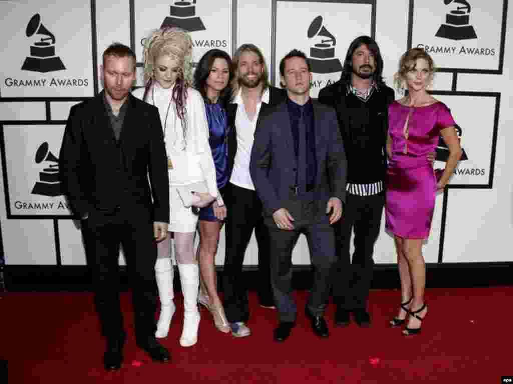 Барои рок ҳам Греммӣ мегиранд. Гурӯҳи роки амрикоии The Foo Fighters.