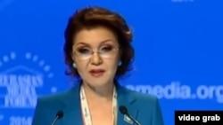 Вице-спикер мажилиса Дарига Назарбаева.