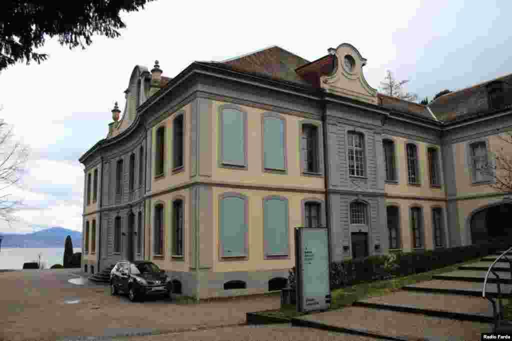 تصویری از ساختمان موزه الیزه در لوزان سوئیس
