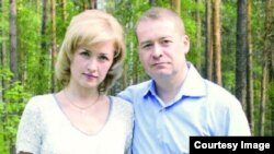 Леонид Маркелов с бывшей супругой