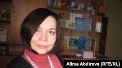 Главный редактор независимой газеты «Диапазон» Елена Гетманова.