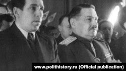 Алексей Кузнецов и Андрей Жданов. Ленинград, 1946 г.