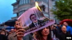 Protestat në Shkup