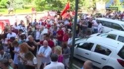 Protest za ostavku ministarke prosvjete Crne Gore