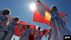 Празднование Дня Независимости в Бишкеке, 31 августа 2012
