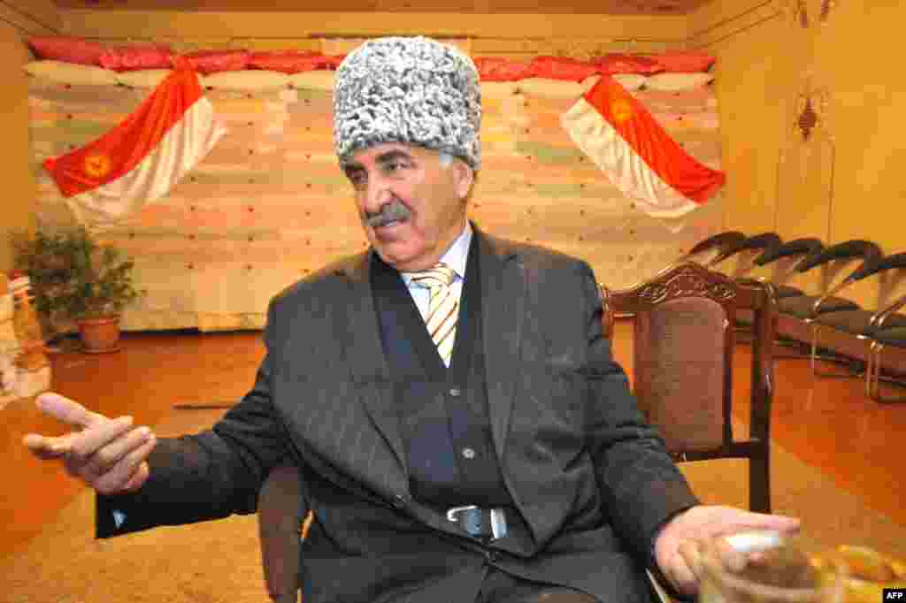 Aziz Tamoyan, the director of the Yazidi Union in Armenia