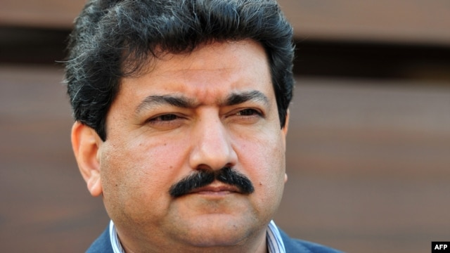 Pakistani journalist and television anchor Hamid Mir