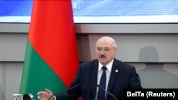 Авторитарный лидер Беларуси Александр Лукашенко.