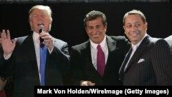 Дональд Трамп, Тевфик Ариф жана Феликс Сэтер. Нью-Йорк, 2007-жыл.