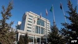 Здание отеля Rixos в Алматы. Иллюстративное фото.