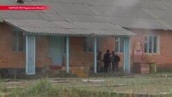 В кыргызском селе школьники учатся в разваливающемся здании