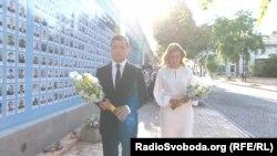Володимир Зеленський, Олена Зеленська, Київ, 24 серпня 2020 року
