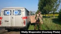 Одна із ротацій полковника медичної служби Віталія Шаповалова головним хірургом 61-го мобільного шпиталю. Літо 2014 року