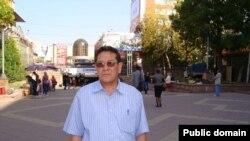 Этнический казах из Ирана Муса Уали во время приезда в Алматы.