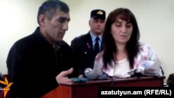 Դիլհամ Ասկերովը դատարանում, Ստեփանակերտ, 27-ը հոկտեմբերի, 2014թ․