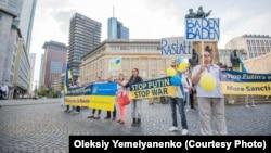 Акції на підтримку України у Німеччині (архівне фото)