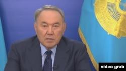 Қазақстан президенті НұрсұлтанНазарбаев.