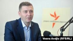 Gradonačelnik Šapca i predsednik opozicione stranke Zajedno za Srbiju Nebojša Zelenović