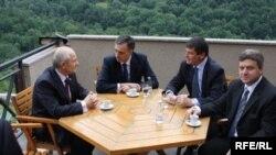 Lideri četiri države na skupu u Prizrenu, 26. juni 2010