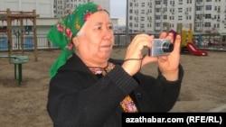 Солтан Ачилова, Ашхабад