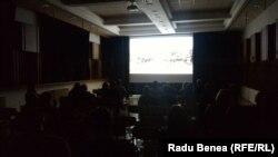 Proiecția filmului despre Transnistria, la Kasarna Karlin, Praga