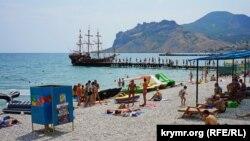 Иллюстрационное фото, Коктебель, Крым