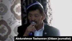 Известный узбекский канатоходец и правозащитник Ахад Набиев.