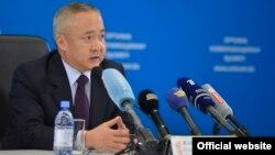 Председатель счетного комитета Казахстана Козы-Корпеш Джанбурчин.