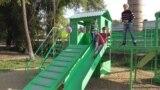 Terenul de joacă deschis de Centrul de reabilitare și consultații OSORȚ cu ajutorul Germaniei la Tiraspol