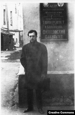 Александр Зиновьев в Москве до эмиграции
