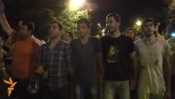 Ermeni protestlerinde şowhunly pursatlar
