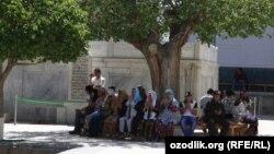 Many Uzbek followers of the Sufi Naqshbandi order come from the region around the Silk Road city of Bukhara, (file photo)