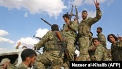 Sirijski pobunjenici koje podržava Turska