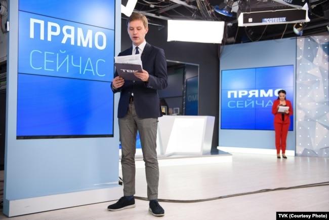 Студия телекомпании ТВК