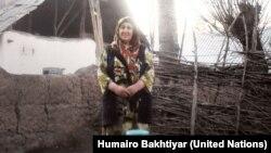 Сурайо Мирзоева, житель таджикского села Фатабод.