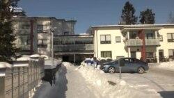 Finlandiyada evsiz qalmır