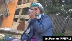 Мария Михай, жительница поселка Айша в Татарстане