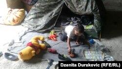 Privremeni smještaj u Bihaću za izbjegle