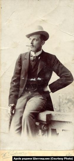 Граф Казимир Шептицький. Перед 1911 р. Фото з колекції «Archiwum Szeptyckich» (Власність «Fundacji Rodu Szeptyckich»)